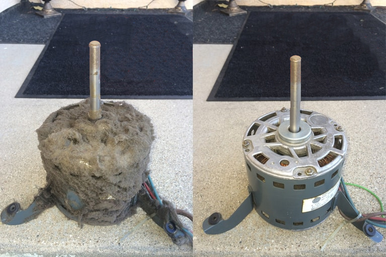 Dirty AC Motor